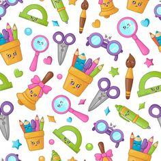 Polymer Clay Kawaii, Polymer Clay Animals, Scrapbook Stickers, Diy Scrapbook, Creative Activities For Kids, Wallpaper Gallery, Locked Wallpaper, Polymer Clay Miniatures, Pastel Wallpaper