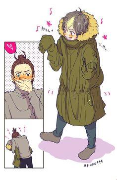 asanoya, nishinoya, asahi, haikyuu - noya is soooo cute!