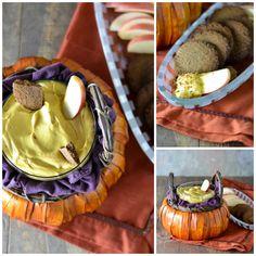 Creamy Pumpkin Dip {Vegan, Gluten Free}