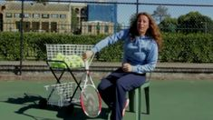 Learn a tennis drill that will help your timing, posture, pronation, and ball toss technique for serving. all without even having to stand up! Tennis Rules, Tennis Tips, Tennis Bag, Tennis Clothes, How To Play Tennis, Tennis Pictures, Tennis Serve, Tennis Equipment, Tennis Accessories