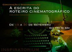Curso de Roteiro em Setembro >> com o roteirista e diretor mexicano Aarón Fernández http://www.inspiratorium.com.br/#!produto/iky07/da03c20b-9eb4-9eba-3b95-83b10c72a937 Nossos contatos: secretaria@inspiratorium.com.br / 11 2619-7111 #inspiratorium #cinema #audiovisual #roteiro