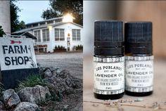 Los Poblanos Inn in Albuquerque, a 25 acre Lavender Farm, sells their lavender essential oils, made on site.