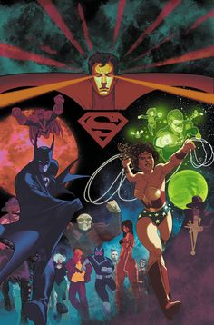 Frazer Irving - DC Heroes 80