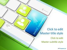 Free Keyboard PPT Template