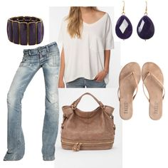 jean, purple, cloth, dream closet, outfit, hosefish, dress up, polyvore, shoe