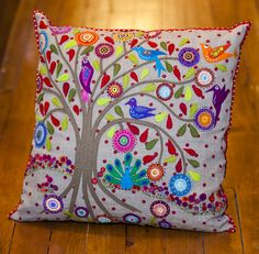 Birdsville Cushion - Kit