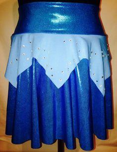 Sleeping Beauty Aurora Blue Running Skirt w/ by RunPrincessRun
