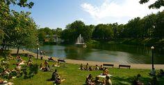 La Fontaine Park em Montreal #viagem #canada #viajar