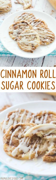 Cinnamon Roll Sugar Cookies Recipe - How to Make Cinnamon Roll Cookies