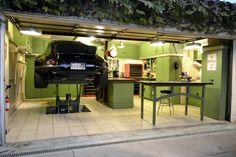 The 12-Gauge Garage - The Garage Journal Board In floor lift