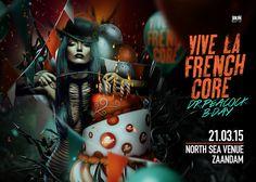 Grafisch ontwerp van Dutchaholic voor BKJN Events. Artwork - Freak - Graphic design - ballonnen