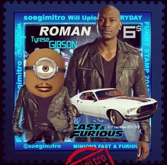 Fast and Furious Roman Minion
