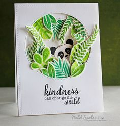 Party panda- Stampin' Up! Handmade Greetings, Greeting Cards Handmade, Panda Party, Karten Diy, Marianne Design, Animal Cards, Kids Cards, Creative Cards, Cute Cards