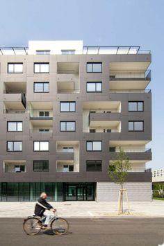 EQUITONE facade materials Stella Zwei / Zechner & Zechner www.equitone.com #architecture #material #facade