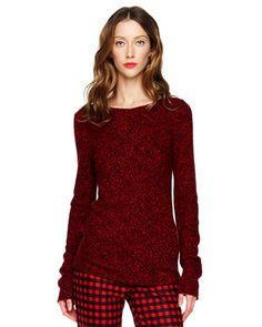 Michael Kors Marled Cashmere Sweater.