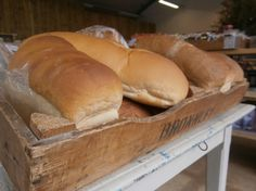 Freshly baked bread every day