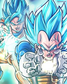 Vegeta's Final Flash and Son Goku's Kamehameha are the ultimate destruction combination. They annihilated team Universe 9 in Episode 98 of Dragon Ball Super - Visit now for 3D Dragon Ball Z compression shirts now on sale! #dragonball #dbz #dragonballsuper