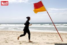"""Mayor David Lisnard, who called the burkini """"the uniform of extremist Islamism, not of the Muslim religion,"""" cited public order concerns in light of the July terrorist attacks in nearby Nice and a Catholic church in northwest France. Muslim Ban, Muslim Women, Full Body Swimsuit, Sydney Beaches, Local Beaches, Islam, Dresser, And Justice For All, Broken Promises"""