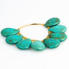 Blue & Gold Peacock Bracelet with Gold Plated by JewelsByCrys, $22.00