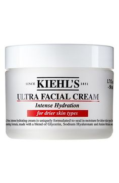 Kiehl's Since 1851 Ultra Facial Cream Intense Hydration for Drier Skin Types available at #Nordstrom