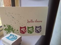 """More """"Undefined"""" from Stampin' Up - my Rustic Owl"""