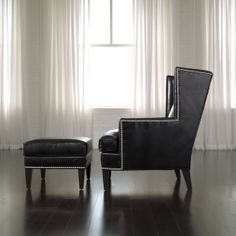Parker Leather Chair - Ethan Allen US