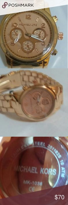 Michael Kors watch Rose Gold MK-1038 New Brand Michael Kors Watch MK-1038 doesn't include box Michael Kors Accessories Watches