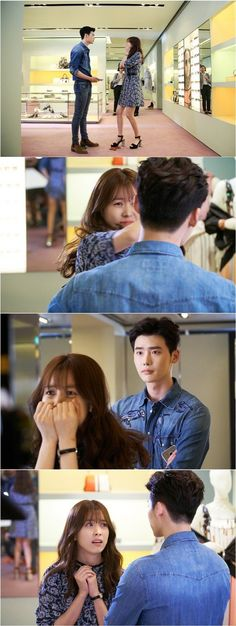 Drama 'W' releases still cuts of Lee Jong Suk and Han Hyo Joo's first meeting W Kdrama, Kdrama Actors, Jung Suk, Lee Jung, Asian Actors, Korean Actors, W Two Worlds Art, Korean Drama Funny, Kang Chul