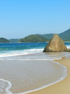 Praia do Cepilho, em Trindade - Paraty (RJ).