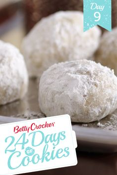 Everyone knows that Russian tea cakes are the life of the holiday party! These bite-size, buttery cookies are little almond-flavored bundles of joy—no wonder they're one of Betty's most-shared and highest-rated recipes of all time. Mix things up this year by adding toasted coconut to the dough—and let us know how your family likes it!