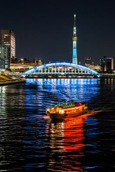 Tokyo Skytree and Sumida River, Japan 東京スカイツリーと隅田川