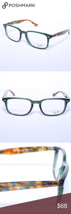 3534c833aad Ray Ban RB 5353 5630 Green-Havana Eyeglasses Ray Ban RB 5353 5630 Green-