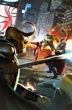 #The #Avengers #Fan #Art.