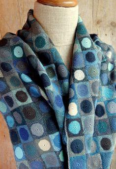"""""""Objets Celestes"""" scarf"""