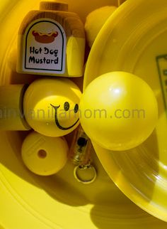 Yellow Theme Preschool Activities for Yellow Week
