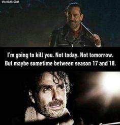 The Walking Dead Feels like it. #TWD