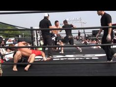 This sort of fighting could only happen in Japan - crazy stuff!