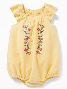 Flutter-Sleeve Bubble Romper for Baby | Old Navy