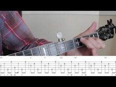 Beginning Bluegrass Banjo - Lesson 14 - Simple arrangement of Eight More Miles To Louisville - YouTube