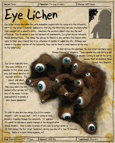 Labyrinth Guide - Eye Lichen by =Chaotica-I Fan Art / Digital Art / Painting & Airbrushing / Movies & TV ©2011-2012 =Chaotica-I