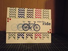 Just A Scrappin': Enjoy the Ride Card from CTMH