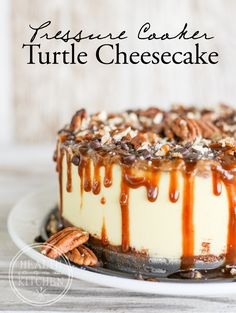 New Blog Recipe: Pressure Cooker Turtle Cheesecake http://www.healthstartsinthekitchen.com/recipe/pressure-cooker-brownie-bottom-turtle-cheesecake-low-carb/?utm_campaign=coschedule