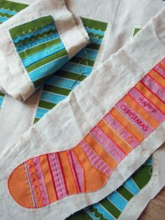 Kristen Doran Design - xmas stockings