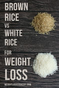 White rice or brown rice? Decide it now! Now!