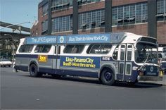 Old NYC  bus