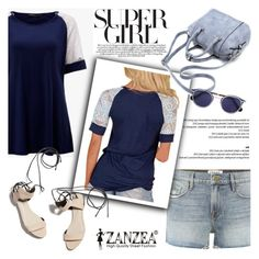 """Super Girl!"" by helenevlacho ❤ liked on Polyvore featuring Frame, 3.1 Phillip Lim and zanzea"