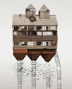 Architectural Cultures Condensed: Vernacular Dwelling Collages
