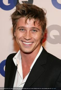 "Garrett Hedlund. Loved him in ""Country Strong"". The guy has a sexy smile and he can sing. Need I say more?"