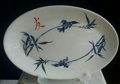 Plate friendship. Handpainted by Marjan Snoep.
