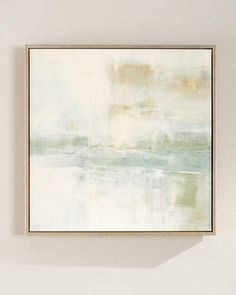 John-Richard Collection Tahoe Square Giclee on Canvas Wall Art, 18 Landscape Elements, Abstract Landscape, Abstract Art, Frames For Canvas Paintings, Beach Art, Painting Inspiration, Canvas Wall Art, Neiman Marcus, Top Designers
